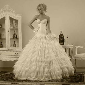 Шикарные свадебные платья в центре Израиля